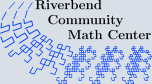 Riverbend Community Math Center Logo